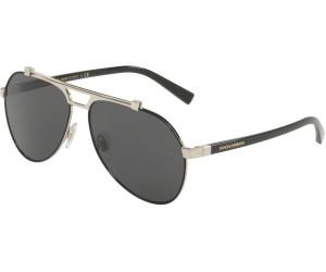 DOLCE & GABBANA Dolce & Gabbana Herren Sonnenbrille » DG2189«, schwarz, 01/87 - schwarz/grau