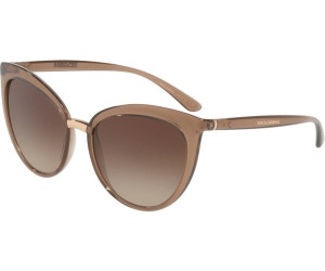 Dolce and Gabbana DG6113 Sonnenbrille Braun Transparent 315913 55mm zWqRlOhVy