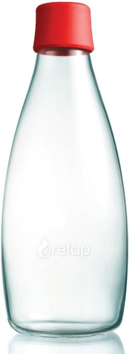 Retap Flasche 0,8L rot