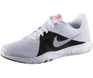 FLEX TRAINER 8 - Zapatillas de entrenamiento - white/metallic silver/black NhdZmaxb