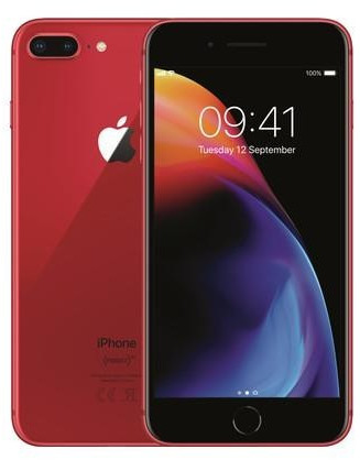 Image of Apple iPhone 8 Plus 64GB RED