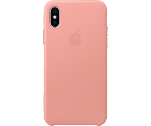 super popular d7ade 8c063 Buy Apple Leather Case (iPhone X) Soft Pink from £45.10 – Compare ...