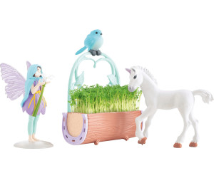 mit Samen TOMY My Fairy Garden Einhorn /& Freunde