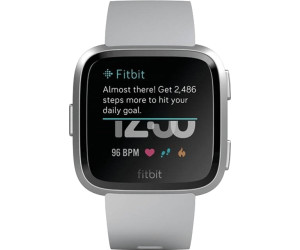 Buy Fitbit Versa Grey/Aluminium Silver from £149 99 – Best