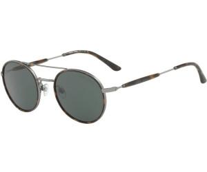 Giorgio Armani Herren Sonnenbrille » AR6056J«, braun, 301173 - braun/braun
