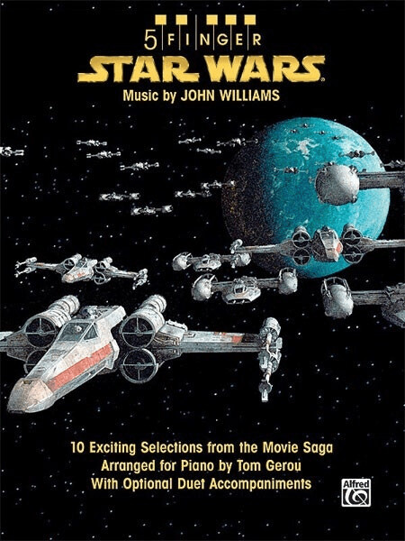 Image of Alfred Music Star Wars 10 Exciting Selections from the Movie Saga Arranged for Piano