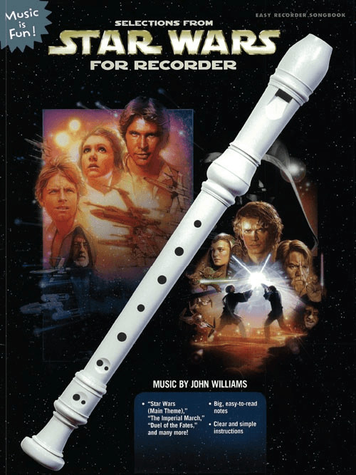Image of Alfred Music Selections from Star Wars for Recorder