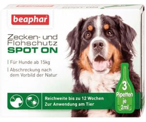 Beaphar Zecken & Flohschutz Spot On für Hunde ab 7,36