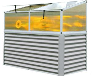 outflexx hochbeet zincalume mit aufsatz ab 229 90. Black Bedroom Furniture Sets. Home Design Ideas