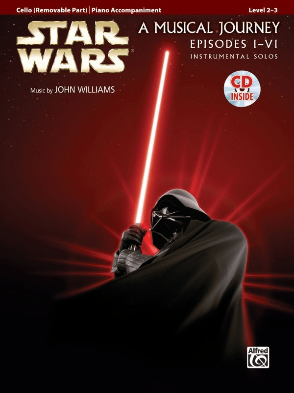 Image of Alfred Music Star Wars Instrumental Solos for Strings (Movies I-VI) Cello