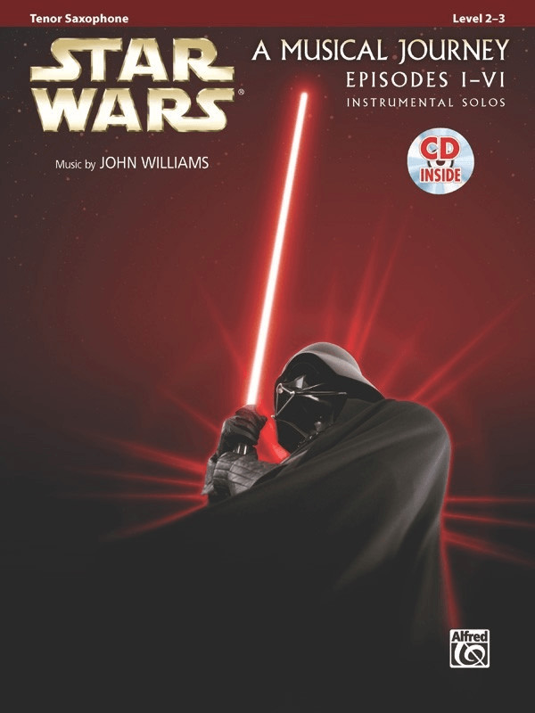 Image of Alfred Music Star Wars Instrumental Solos (Movies I-VI) Tenor Saxophone
