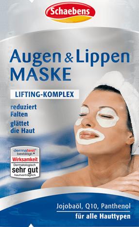 Schaebens Augen & Lippen Maske (4 x 1,5ml)
