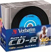 Verbatim CD-R 700MB 52x AZO Colour Data Vinyl 1...