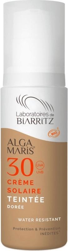 Laboratoires de Biarritz Alga Maris getönte Sonnencreme LSF 30 Gesicht golden (50ml)