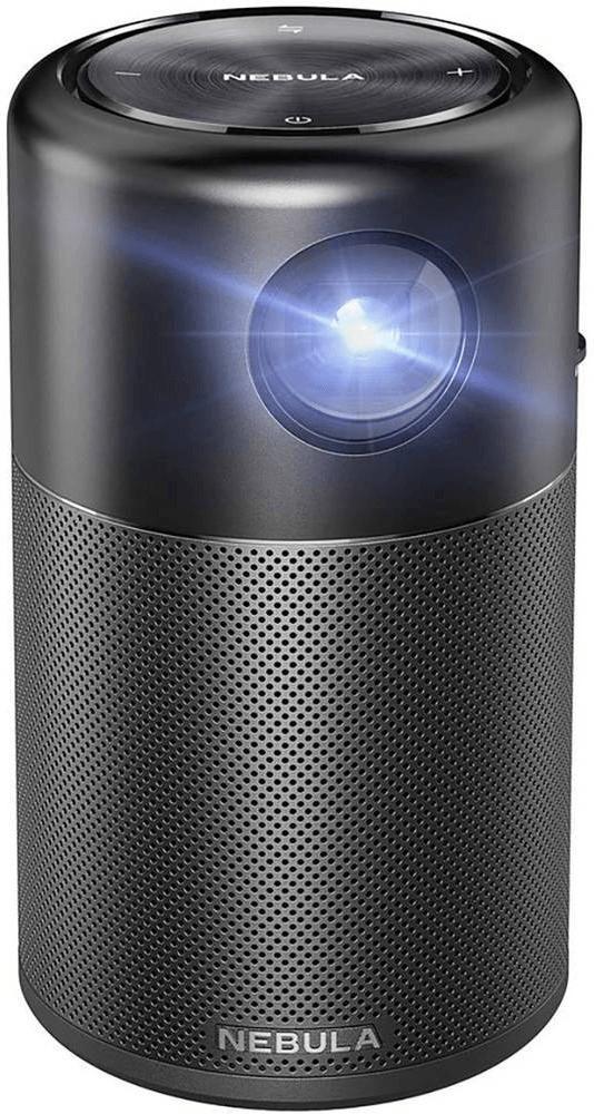 "Anker Nebula Capsule Video - Proyector (100 lúmenes ANSI, DLP, WVGA (854x480), 1500:1, 508 - 2540 mm (20 - 100""), 0,58 - 3,08 m)"