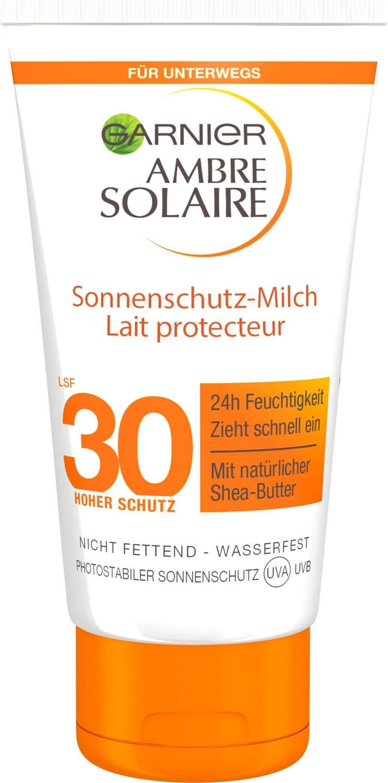 Image of Garnier Ambre Solaire Sun Milk SPF 30 (50 ml)