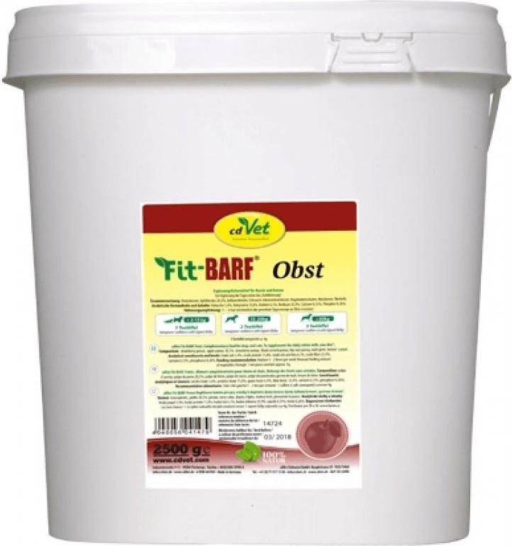 cdVet Fit-BARF Obst für Hunde und Katzen 2500g