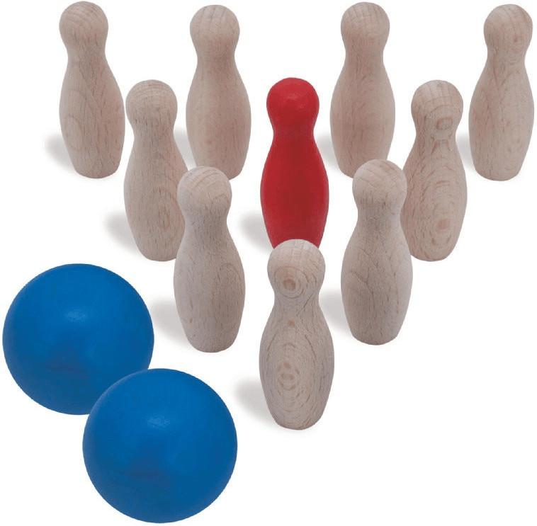 Heros Bowling-Spiel Bunt (72302)
