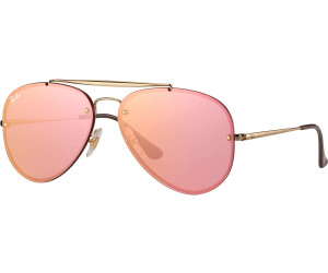 Ray Ban Ray-Ban Sonnenbrille »blaze Aviator Rb3584n«, Goldfarben, 001/19
