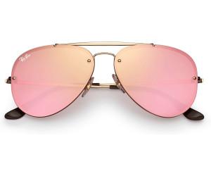 RAY BAN RAY-BAN Sonnenbrille »BLAZE AVIATOR RB3584N«, goldfarben, 9052E4 - gold/rosa