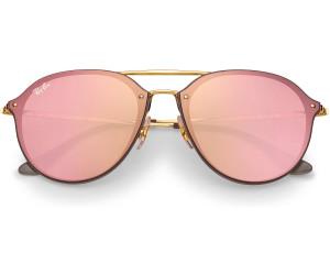 20a482fae6 Buy Ray-Ban Blaze Double Bridge RB4292N 6327E4 (brown-gold pink ...
