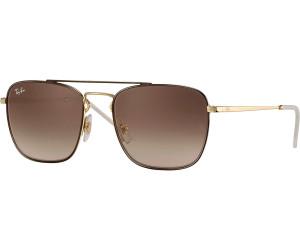 Ray-Ban RB3588 Sonnenbrille Gold / Blau 9062I7 55mm vMEySArn