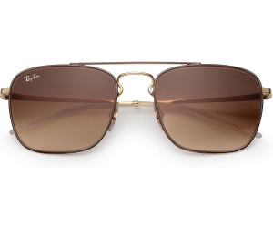 acb745e594a52 Buy Ray-Ban RB3588 905513 (brown-gold brown gradient) from £100.00 ...