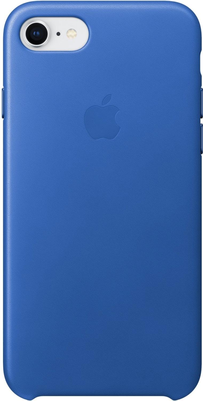 Apple Leder Case (iPhone 7/8) electric blau