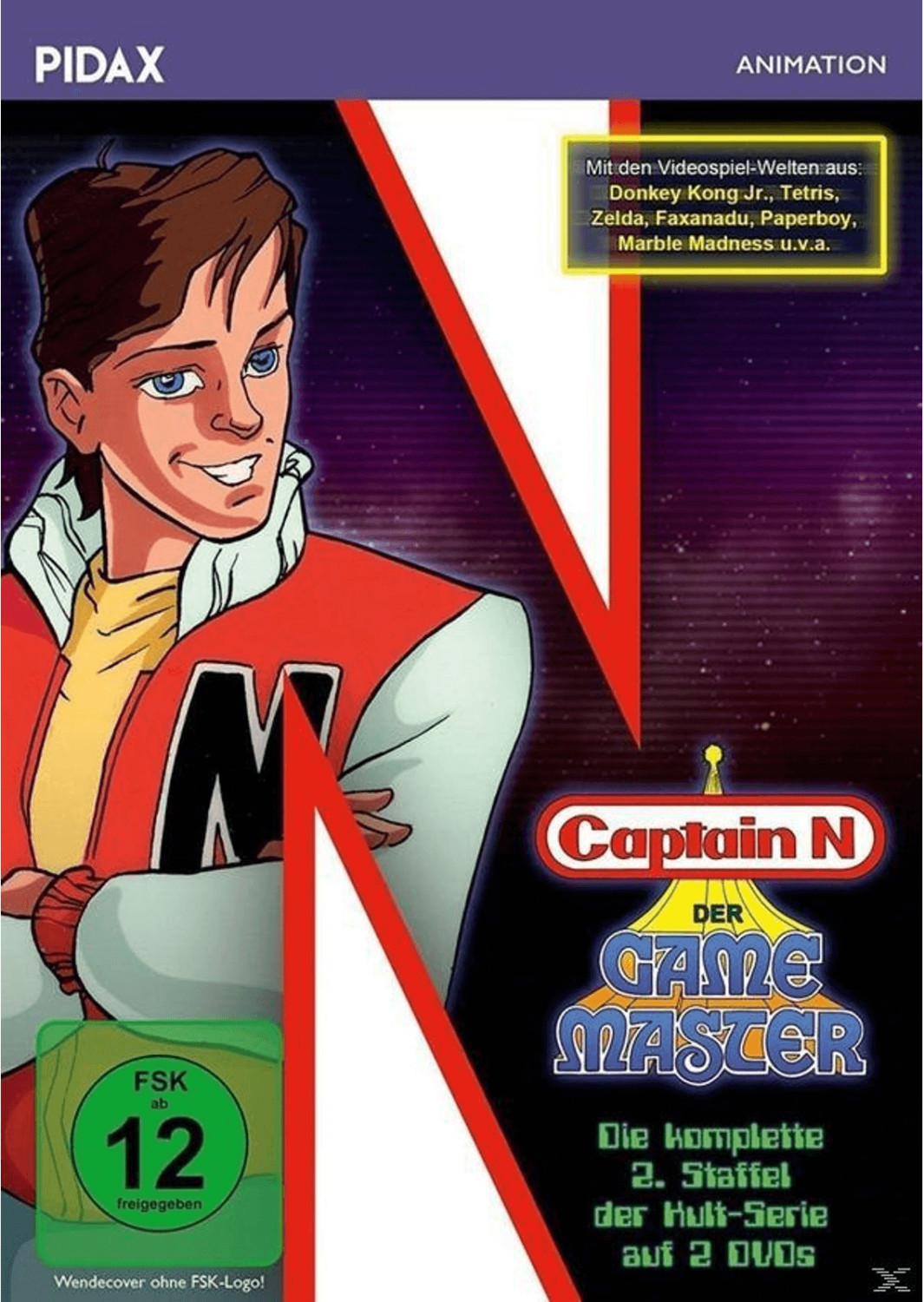 Captain N: Der Game Master - Staffel 2 [DVD]