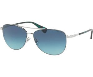 RALPH Ralph Damen Sonnenbrille » RA4122«, schwarz, 323488 - schwarz/grau