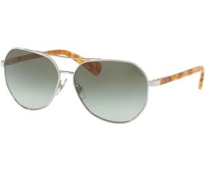 RALPH Ralph Damen Sonnenbrille » RA4123«, schwarz, 323411 - schwarz/grau