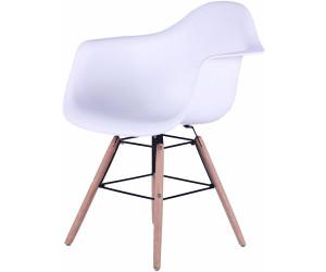 Sit Stuhl Mit Armlehne Buchenholz Beinen 2stk Weiss Ab 165 37