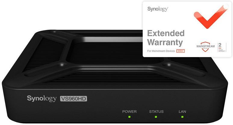 Synology VisualStation VS960HD + Garantieerweit...