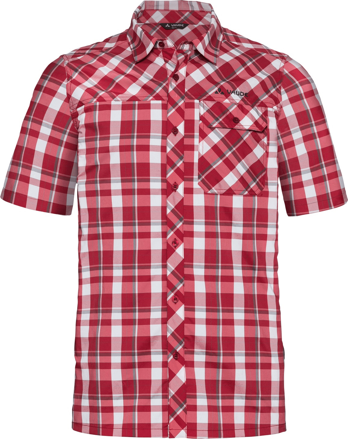 VAUDE Men´s Bessat Shirt II dark indian red