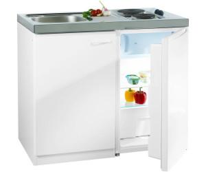 Respekta Miniküche 100 cm weiß (Pantry 100S) ab 299,00 ...
