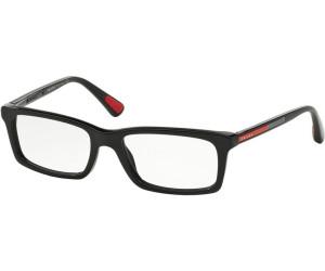 Prada Sport Kunststoff Brille PS 02CV 1BO1O1 Gr. 55 in der Farbe black / schwarz NA1jz