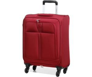 Valise cabine souple Delsey Maloti Slim 55 cm Rouge cwUBI