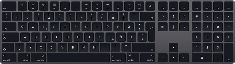 Apple Magic Keyboard, mit Ziffernblock, deutsch, space grau