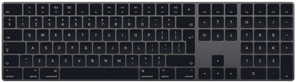 Apple Magic Keyboard with Numeric Keypad (grey)(UK)