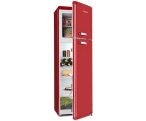 Klarstein Kühlschrank Retro : Klarstein audrey retro kühl gefrier kombination liter ab