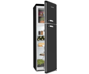 Kühlschrank Kombi : Klarstein audrey retro kühl gefrier kombination liter ab