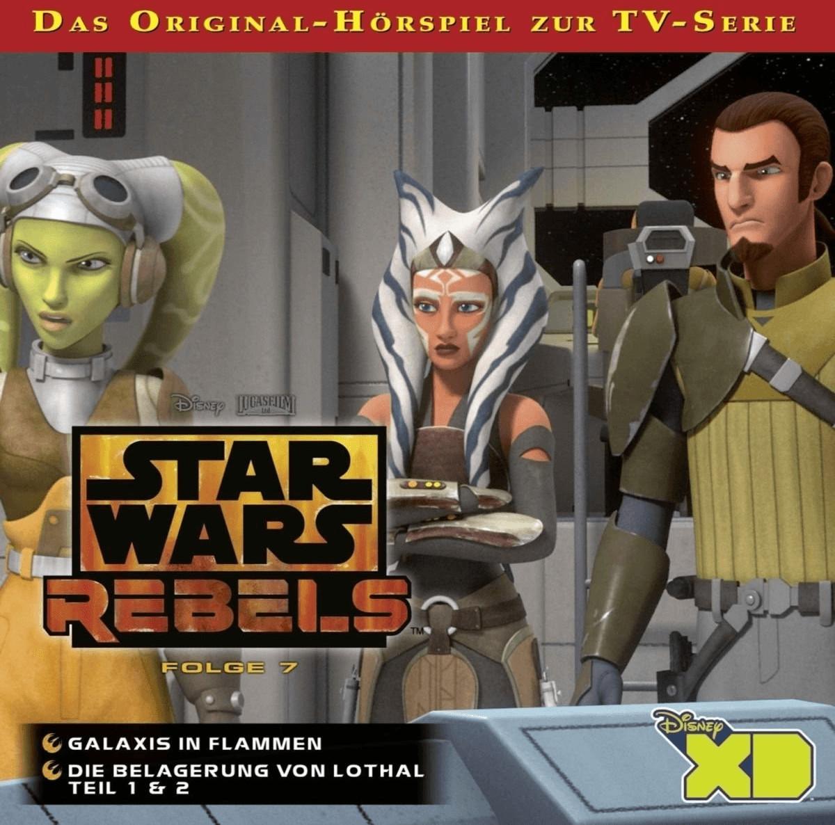 Star Wars - Rebels - 07: Galaxis in Flammen / D...