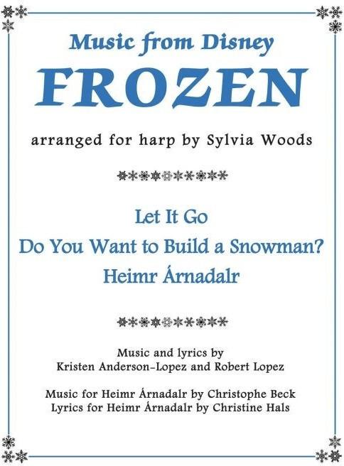 Hal Leonard Music from Disney´s Frozen for Harp