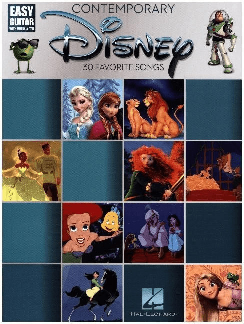 Image of Bosworth Contemporary Disney - Easy Guitar