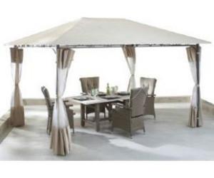grasekamp antik pavillon seitenteile 3 x 4 m ab 29 95 preisvergleich bei. Black Bedroom Furniture Sets. Home Design Ideas