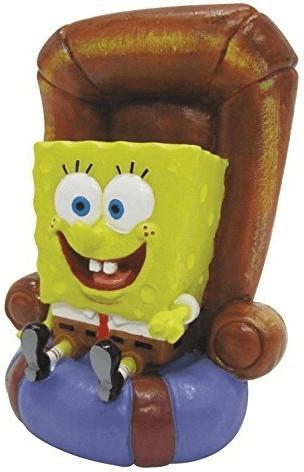 Penn-Plax Spongebob Schwammkopf - SpongeBob im Stuhl 12,7cm