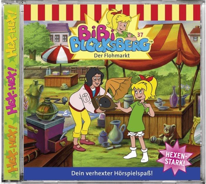 Bibi Blocksberg - 37: Der Flohmarkt [Hörbuch-CD]