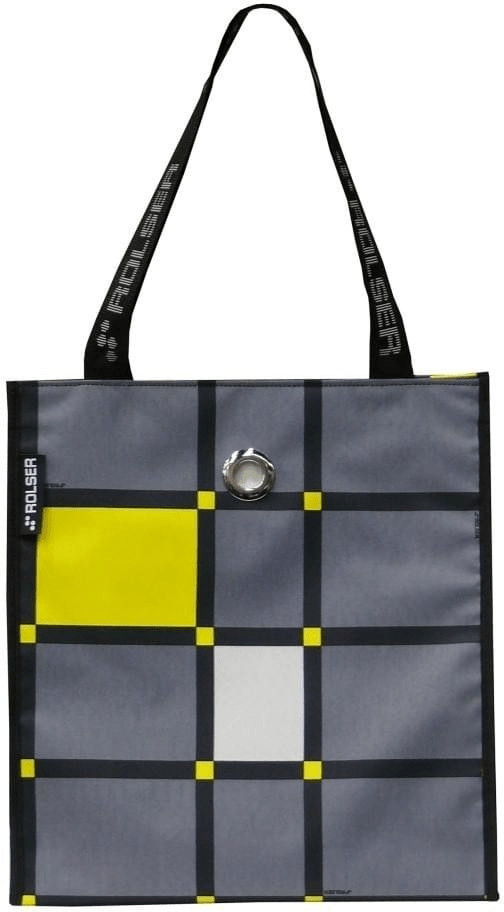 Rolser Shopping Bag Cuadro marengo grey (SHB017)