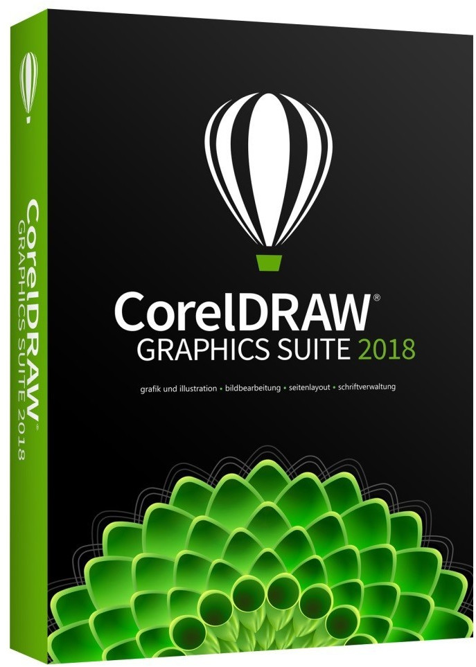 Corel CorelDRAW Graphics Suite 2018 (DE) (Box)