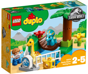 Calendrier Avent Duplo.Lego Duplo Le Zoo Des Adorables Dinos 10879 Des 13 99
